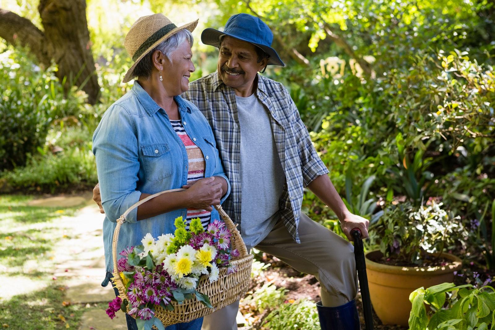 benefits of gardening in elderly