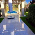 garden landscaping grass pool maintenance