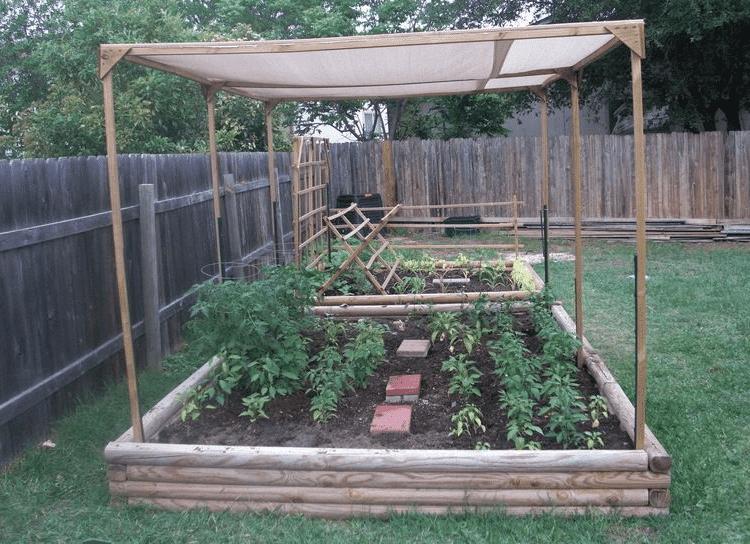 extra shading for garden