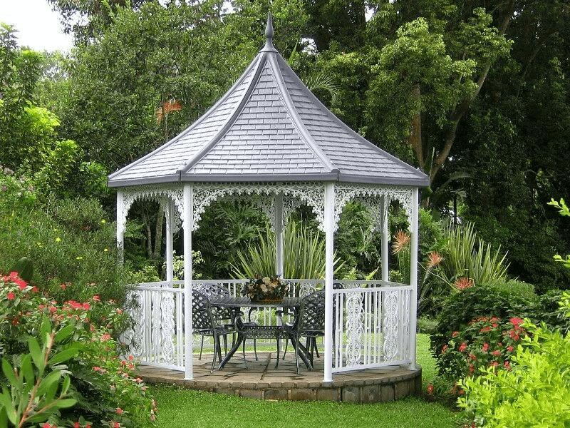 gazebo garden design