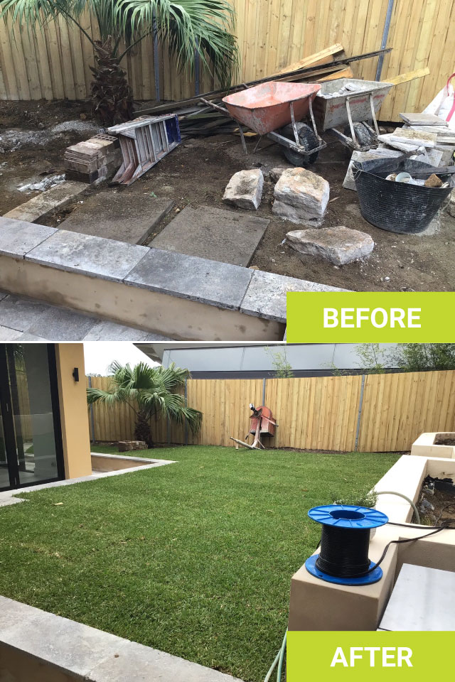 before and after works