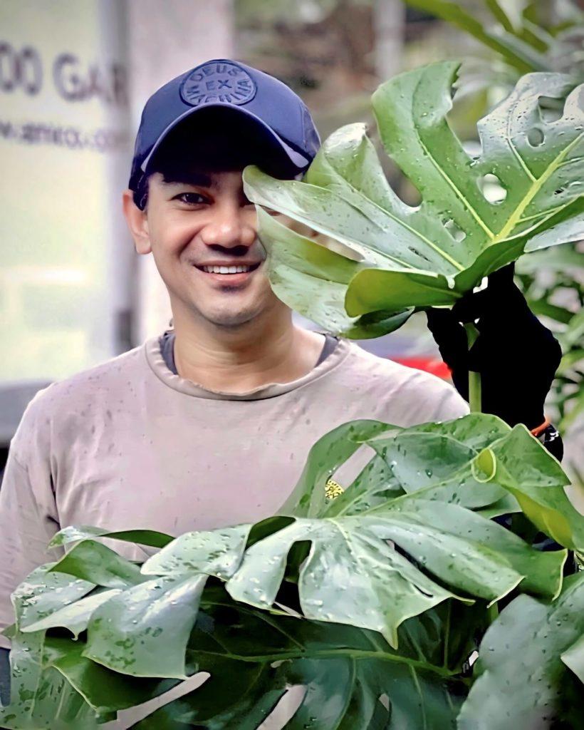amico garden specialist at work